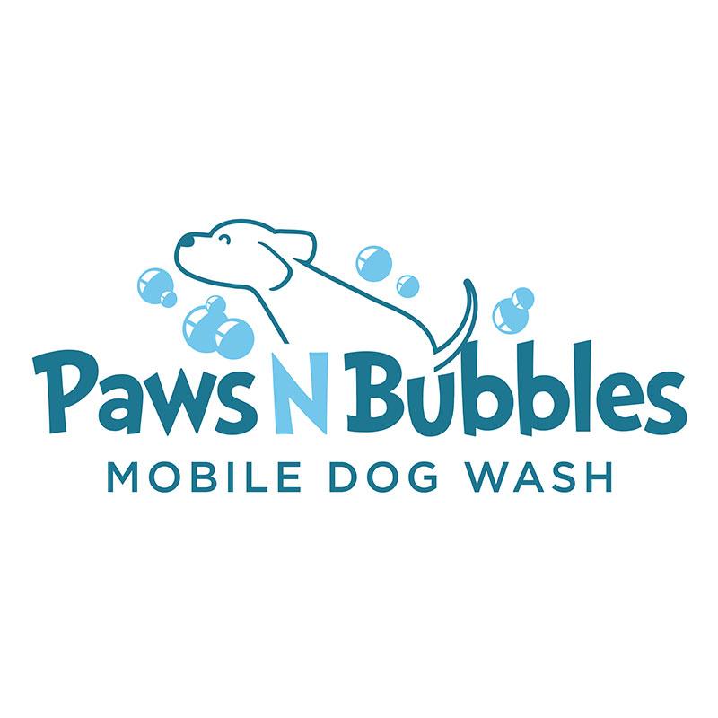 Logo design for a mobile dog wash / groomer.