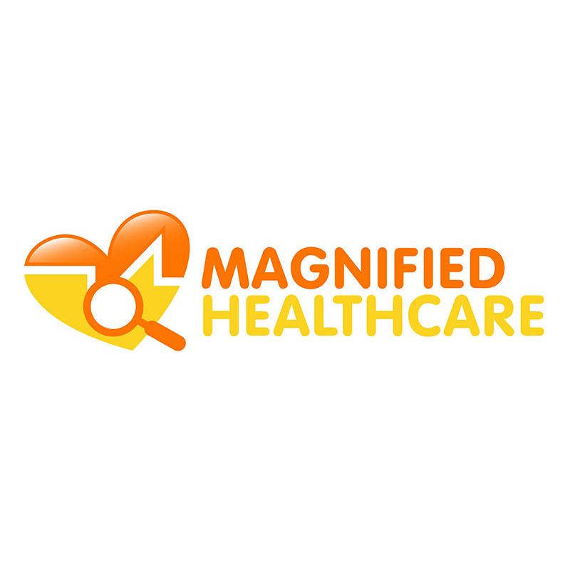 Logo design for a healthcare business.