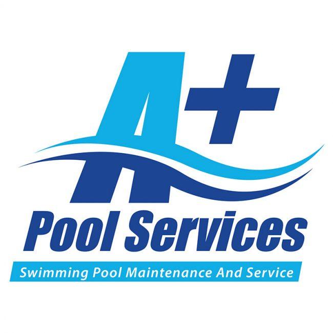 Pool Cleaning & Maintenance Logo Design Australia - A+